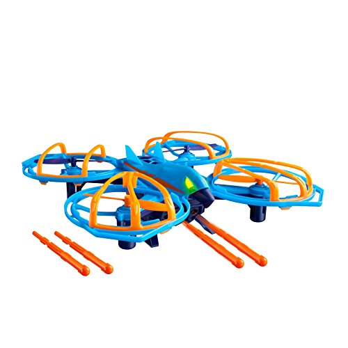 Drone Force Vulture Strike-2.4Ghz Indoor/Outdoor Drone Helicopter Toy with Missile Launcher Feature