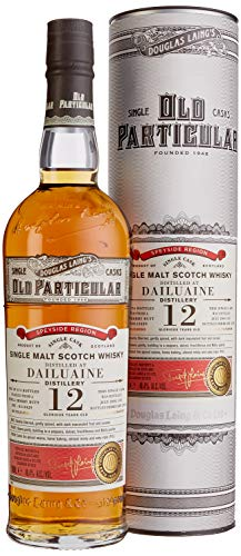 Douglas Laing Dailuaine Old Particular Single Cask Malt 12 Years Old mit Geschenkverpackung 2005 Whisky (1 x 0.7 l)
