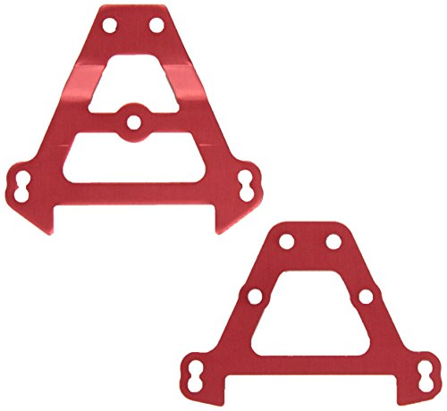 Traxxas 5323R Red-Anodized Aluminum Bulkhead Tie Bars, (F&R)