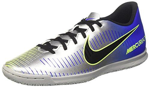 Nike Mercurialx Vortex III NJR IC, Scarpe Sportive, Multicolore (Racer Blue/Black CHR 407), 40.5 EU