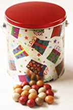Scott's Cakes Fall Harvest Gourmet Chocolate Malt Balls in a Gifts Galore Pail