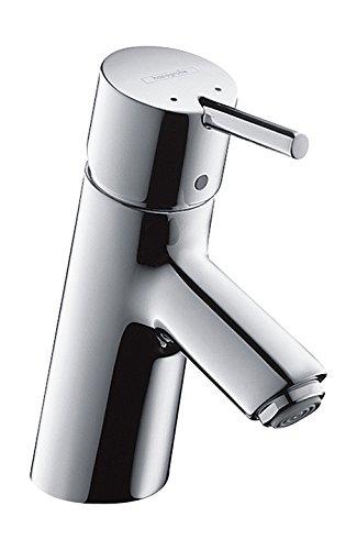 hansgrohe Wasserhahn Talis S (Armatur mit Auslauf Höhe 70mm und Zugstangen-Ablaufgarnitur) Chrom
