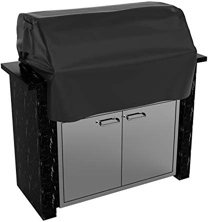 SHINESTAR 32 inch Built in Grill Cover Heavy Duty Waterproof BBQ Island Grill Top Cover Wind product image