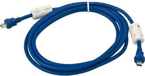 Mobotix MX-Flex-Opt-CBL-1 Cable para cámara fotográfica 1 m Azul - Cable para cámaras fotográficas (1 m, Azul, Male Connector/Male Connector, Mini USB)