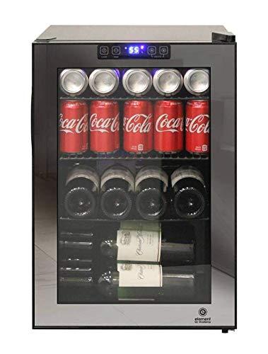 Vinotemp EL-20GMBC 20 Bottle Wine and Beverage Cooler, Black