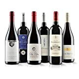 Classic French Red Wine Case - 6 Bottles (
