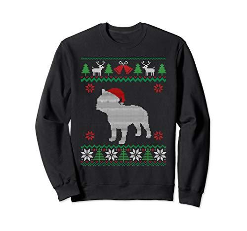French Bulldog Ugly Christmas Sweater Holiday Gift