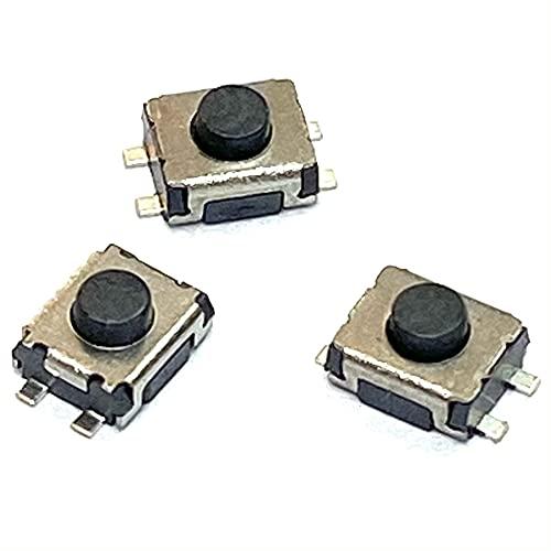 3 Pulsadores Switch Interruptores Botones Sustitucion para Llaves mandos controles a distancia CITROEN PEUGEOT, SWITCH DE 4 CONTACTOS