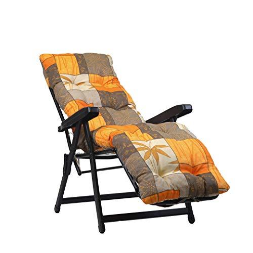 TECNOCUCI Cuscino Imbottito per Sdraio con poggiapiedi (160x45cmx10cm) - 100% Made in Italy - Ricambio Cuscino Ideale per Sdraio da Giardino