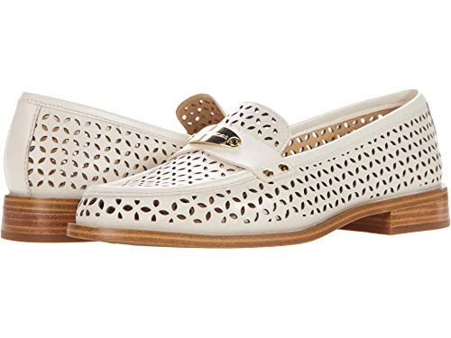 Michael Kors Finley Loafer Light Cream 6 M