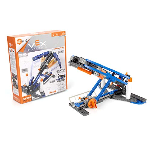 HEXBUG VEX Robotics Crossbow 2.0, STEM Learning, Toys for Kids (Blue/Orange)