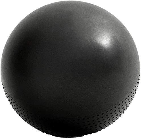 Übung Gymnastikball 65cm Pilates Yoga Swiss Ball PVC Doppel Textur verdickte Sicherheit Anti-Burst Entbindungs Kugel mit Luftpumpe for Home Office Chair Fitness Balance Training Geburt Assisted-Ball