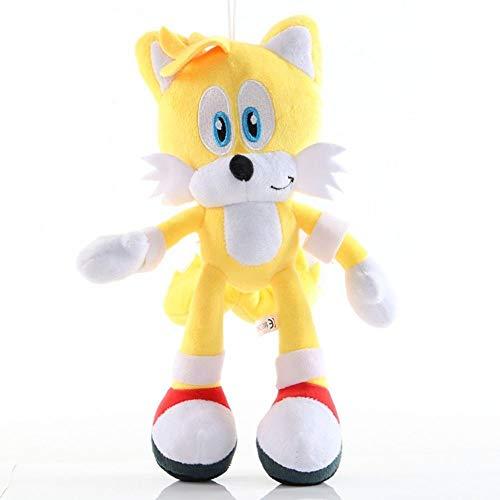 HHtoy Amy/Plata/Talsnak/Nudillos/Millas/Sombra Rose Figura de la Felpa Juguetes Sonic The Hedgehog Animado Figuras de Dibujos Animados de la Felpa de la marioneta 3+ Niños Relleno Suave de l