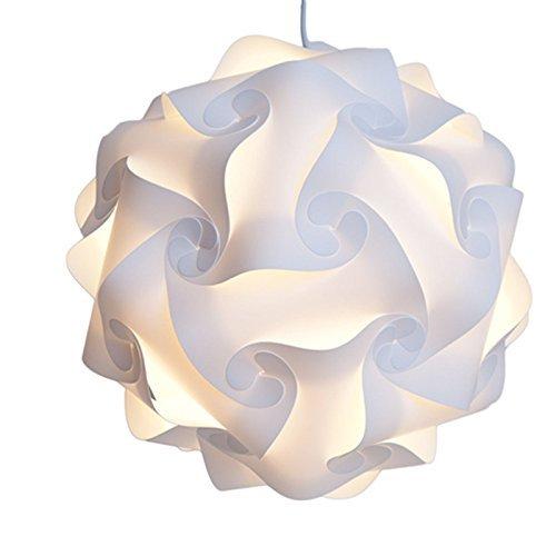 (S) Puzzle-Lampe, Lampenschirm für Tag, DEWEL, Schatten Puzzle, IQ Light, moderne Beleuchtung, DIY Deckenlampe für Schlafzimmer