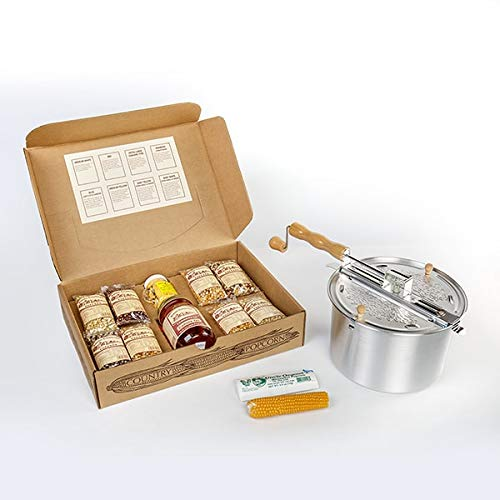 Great Features Of Amish Country Popcorn Complete Gift Set