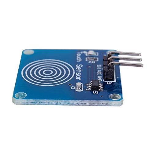 『HiLetgo 10個セット TTP223B スイッチモジュールデジタルタッチセンサー静電容量式タッチ Arduino用 [並行輸入品]』の4枚目の画像