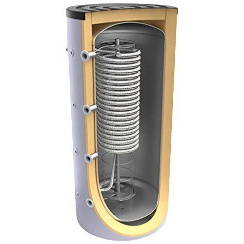500 800 1000 L Liter Hygienespeicher, Boiler mit Edelstahlwellrohr und ohne zusätzlichen Wärmetauschern - legionellenfreien Trinkwasseraufbereitung, Pufferspeicher, Trinkwasserspeicher …