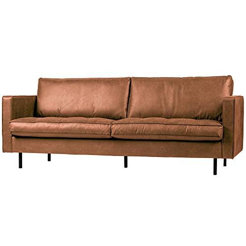 De Eekhoorn 2,5 Sitzer Sofa Rodeo Cognac Lounge Couch Leder Loungesofa Couchgarnitur
