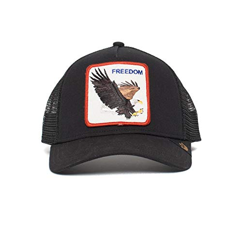 Goorin Bros. Freedom Gorra de bisbol, Black Eagle, Talla única para Hombre