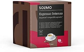 Marque Amazon- Solimo Capsules, compatibles Nespresso*- café certifié UTZ, 100 capsules (2 x 50)