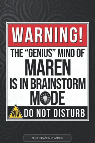 Maren: Warning The Genius Mind Of Maren...