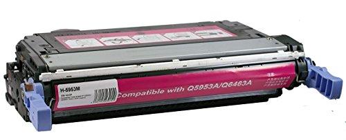 OBV kompatibler Toner als Ersatz für HP Q5953A / Q6463A / 643A / 644A Magenta