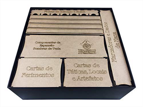 Organizador (insert) Para Mage Knight - Edição Definitiva Bucaneiros Jogos Bucaneiros Jogos Madeira
