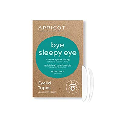 """APRICOT Eyelid Tapes""""bye sleepy eye"""" - for instant eyelid - lifting! 96 mixed pieces size""""s"""" and""""m"""" - GERMAN INNOVATION AWARD WINNER 2019!"""