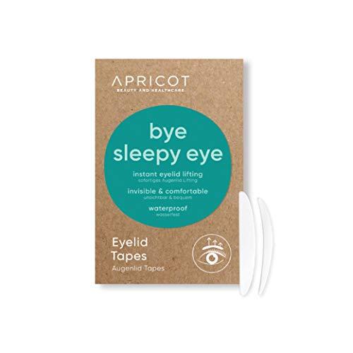 APRICOT Eyelid Tapes Schlupflidtape (96 Stück/Größe S+M) - sofortiges Augenlid-Lifting! hängende Augenlider sofort beseitigen! Made in Germany, dermatologisch