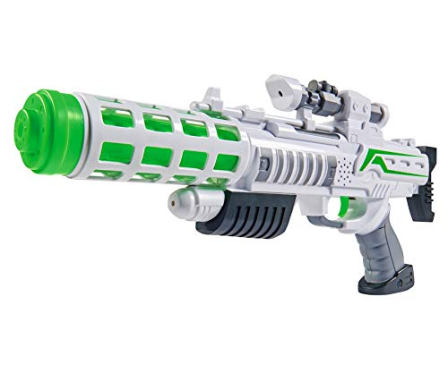 Simba 108046945 - Planet Fighter Light Blaster Gewehr
