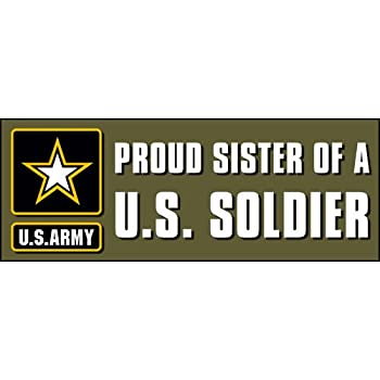 My Brother is in The Army 9x3 Bumper Sticker