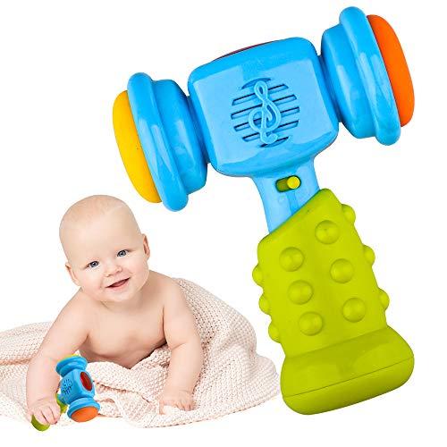 LITTLEFUN Juguete de bebé para niños de 12 a 36 Meses, Juguetes de Martillo Musical para niños de 1 a 3 años, Regalo de cumpleaños, Juguete Educativo de Aprendizaje para niños de 1 a 3 años
