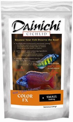 Dainichi Cichlid Food - Color Sinking Small Pellet