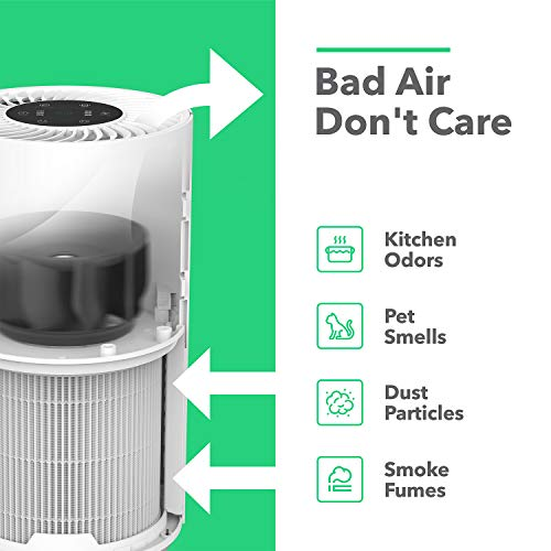 Vremi Premium True HEPA Air Purifier for Large Rooms - Best Air Purifier for Pets