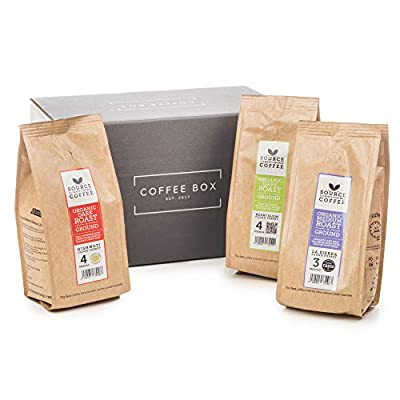 Discover Coffee - Source Climate Coffee - Ground/Filter Coffee Discovery Gift Set
