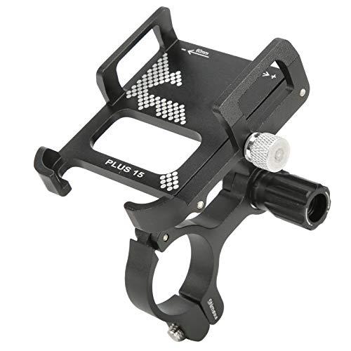 Soporte para teléfono para bicicleta, soporte para teléfono para bicicleta GUB PLUS15, soporte para navegador GPS giratorio 360, soporte para montaje en aleación de aluminio, para montar / la mayoría