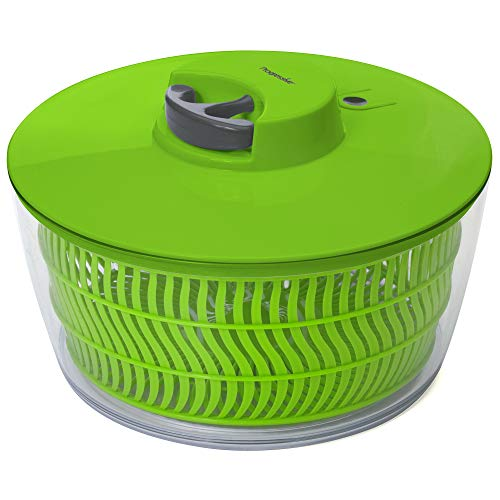 Progressive International PS-1200 Prep Solutions Salad Spinner, Plastic, Green
