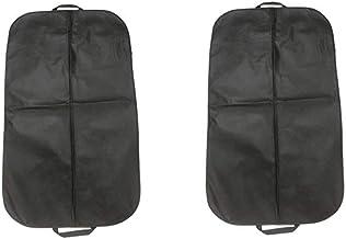 Bolsa de terno Garneck 2 peças para armazenamento e viagem, protetor antimariposa com zíper, capa de terno lavável para ve...