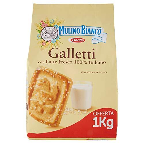 Mulino Bianco Biscotti Galletti - 1000 g