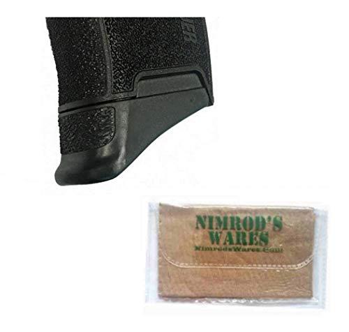 Nimrod's Wares Pearce Grip Sig Sauer P365 Grip Extension 5/8' PG-365 Microfiber Cloth