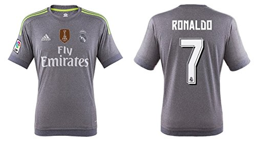 Real Madrid Trikot Herren 2015-2016 Away WC - Ronaldo 7 (S)