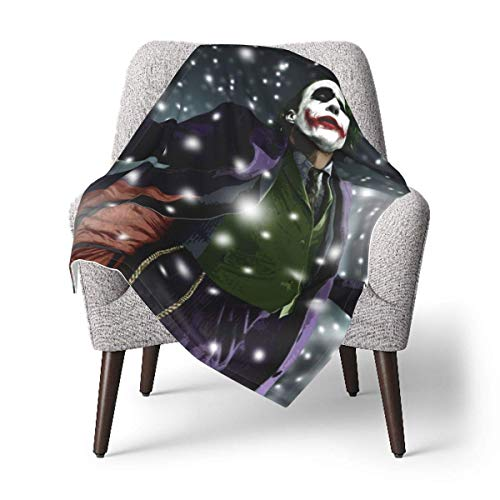 XCNGG Watercolor The Joker Toddler Kids Blanket Super Soft Baby Blankets Cozy Crib Lightweight Comforter Breathable Blankets for Boy and Girls 30 x 40 inch