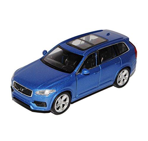 Welly Volvo XC90 SUV Blau 2. Generation Ab 2015 ca 1/43 1/36-1/46 Modell Auto