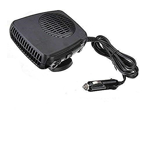 200w coche eléctrico calentador 12v dc calefacción ventilador descongelador demister portátil