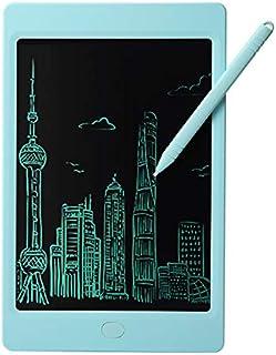 TOPVORK 10 Tableta de Escritura LCD Tablet para ni/ños Ideal como Pizarra Digital para Aprender a Leer y Escribir Juguete Educativo Azul Rosa