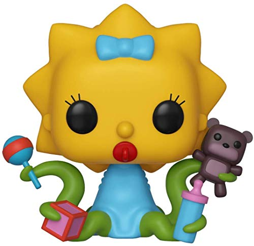 Funko - Pop! Animation: Simpsons - Maggie Figura De Vinil, Multicolor (39727)