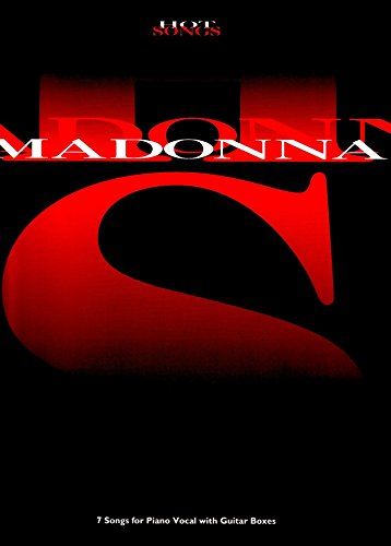 Madonna (Hot songs) (Piano Vocal Guitar)