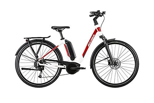Bicicleta eléctrica Atala B-Easy A6.1 9 V WHT/Red, M 50, motor Bosch 2021