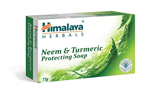JMD Soap Neem & Turmeric Soap Collection 100% Natural Organic Ingredients Helps Acne, Repairs Skin Moisturizes, Deep Cleanse, Luxurious Face Hands Body Soap Women & Men Soap - 6 PACK
