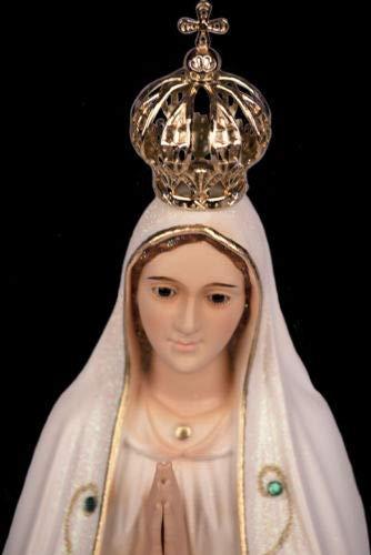 Fatima Statue unserer Liebe Frau Religiosa - Jungfrau Maria 45 cm